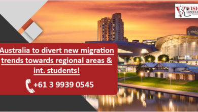 Photo of Australia to divert new migration trends towards regional areas & int. students!
