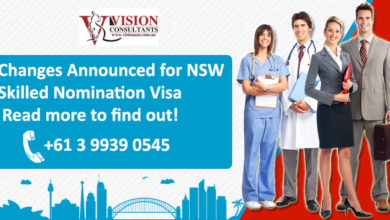 Changes Announced for NSW Skilled Nomination Visa