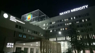 Photo of 97-year-old patient recovers from COVID-19 at Nayati Healthcare