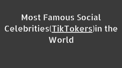 Photo of Most Famous Social Celebrities(TikTokers) in the World