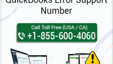 Photo of QuickBooks Error Support Phone Number 1-855-6OO-4O6O