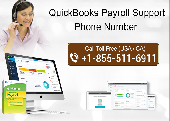 QuickBooks Payroll Support Phone Number  1-855-511-6911