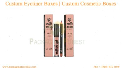 Photo of Custom Eyeliner Boxes | Custom Cosmetic Boxes