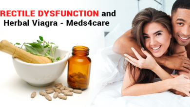 Photo of Erectile Dysfunction and Herbal Viagra – Meds4care