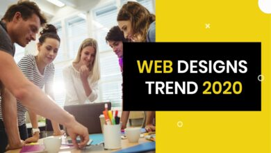 Photo of Web Designs Trend 2020