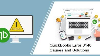 Photo of QuickBooks Error 3140   How to Fix Error Easily?