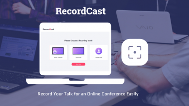 Photo of RecordCast – How to Record Your Talk for an Online Conference
