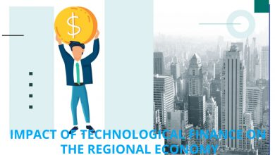 Impact of technological finance on the regional economy