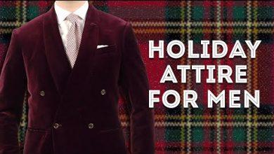 holiday attire men