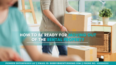 Moving Out Of the Rental Property