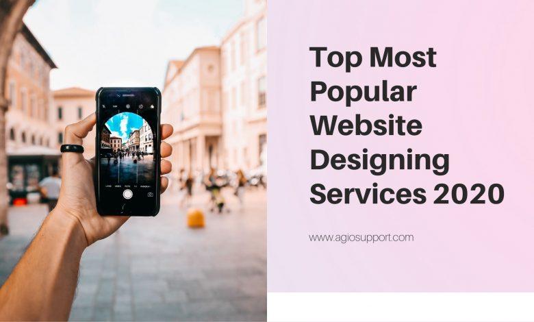 Top Most Popular Website Designing Services 2020