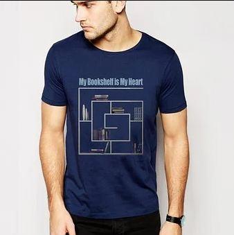 T-shirt printing black ink black t-shirt on frustration