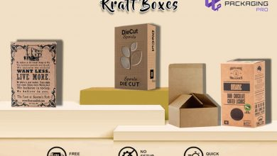 Photo of Kraft Boxes That Offer Durability Customer Trust