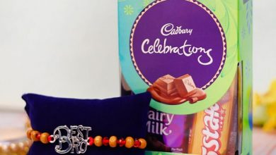rakhi and chocolate