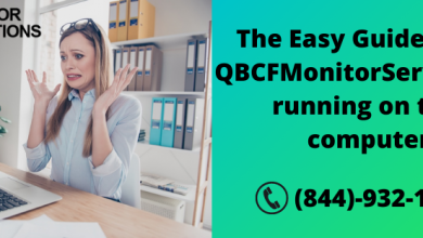 QBCFMonitorService Not Running on This Computer
