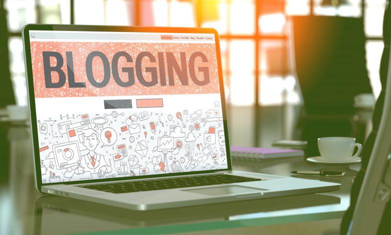 how to create a blog on WordPress