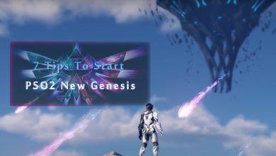 7 Tips To Start Phantasy Star Online 2: New Genesis