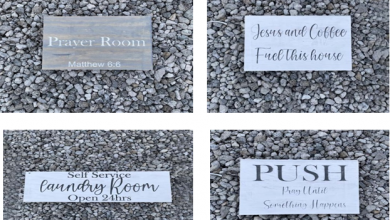 Photo of Customized Wooden Signs