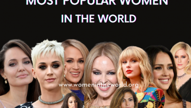 Photo of 50 Most Popular Women in the World [Updated 2021]