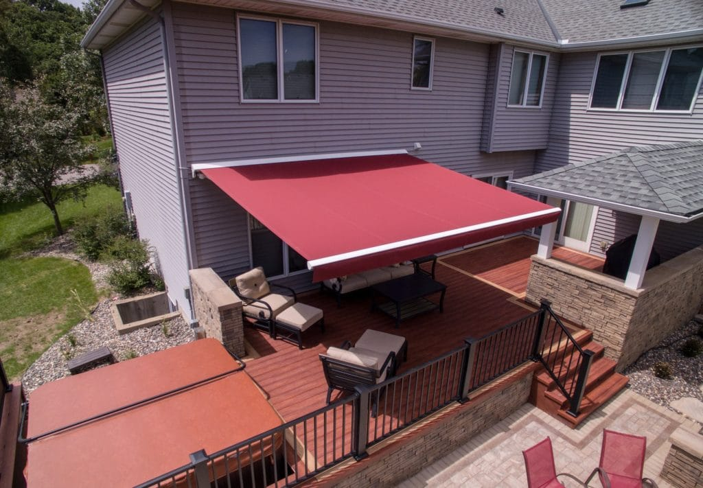 Are retractable awnings good in Rain, Snow, and Storms?