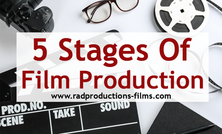 5 Stages Of Film Production