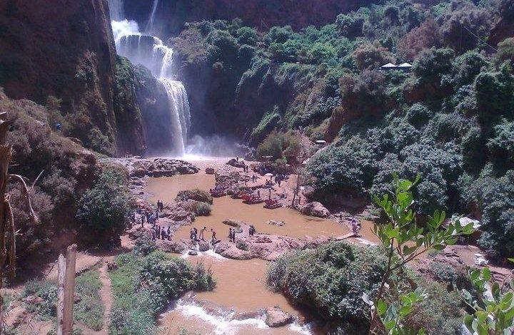 morocco waterfalls